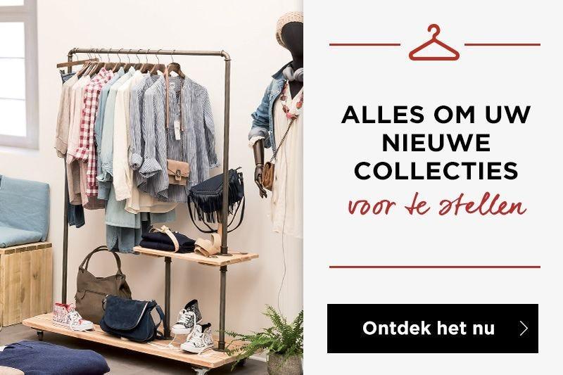 Kledinghangers et kledingrekken: presenteer uw nieuwe collecties !