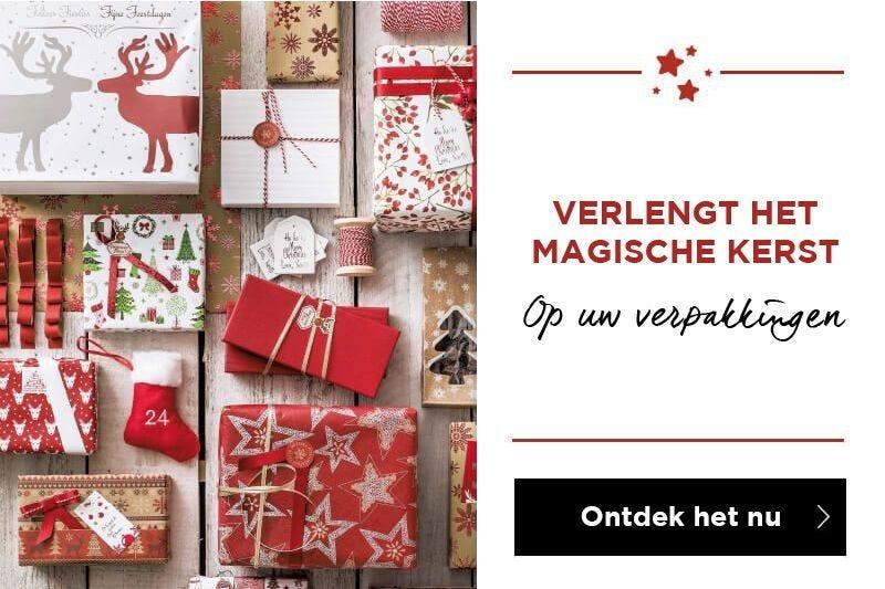 Verleng het magische Kerst op uw verpakkingen