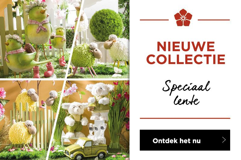 Ontdek de nieuwe collectie decoratie lente