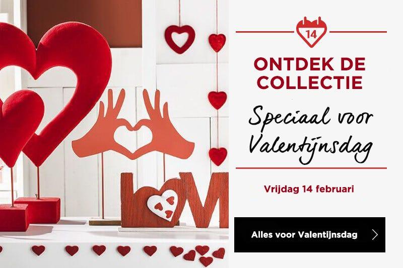 Ontdek de speciale collectie voor Valentijnsdag!