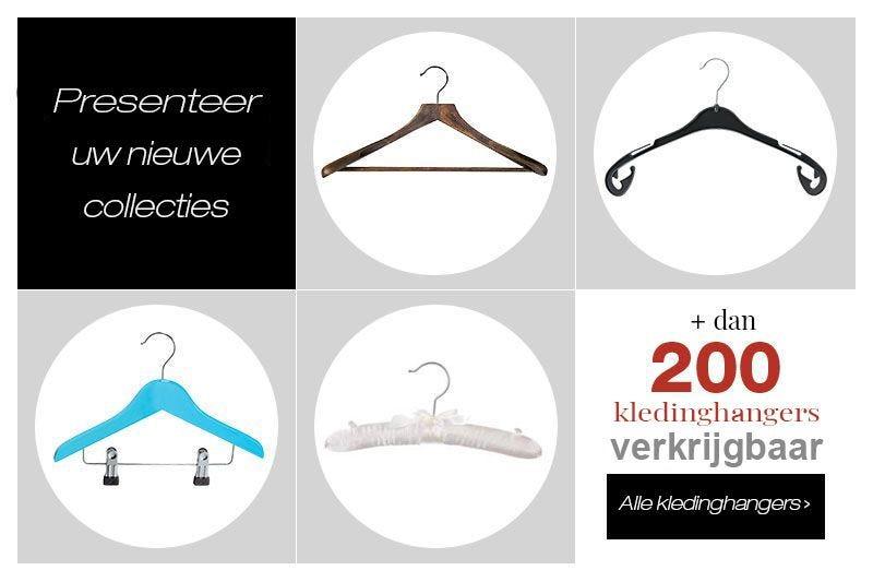 Ontdek de nieuwe collectie kledinghangers
