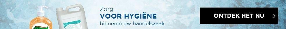 Zorg voor hygiëne en gezondheid binnenin uw handelszaak