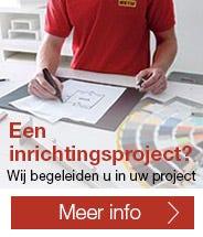 Een inrichtingsproject? Wij begeleiden u in uw project