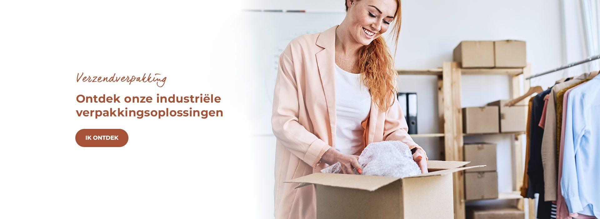 Ontdek onze industriële verpakkingsoplossingen