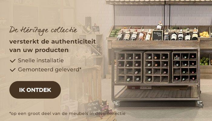 De Héritage collectie versterkt de authenticiteit van uw producten