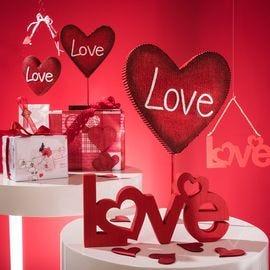 Vitrine St Valentin Love