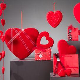 Vitrine St Valentin Rouge passion