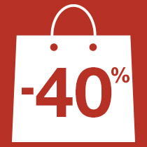 Emballage à -40%