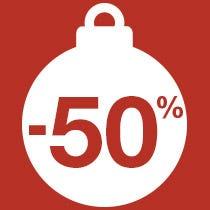 Décoration à -50%