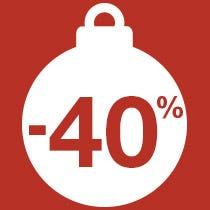 Décoration à -40%