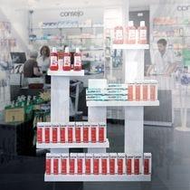 Mobilier et présentoirs Pharmacie