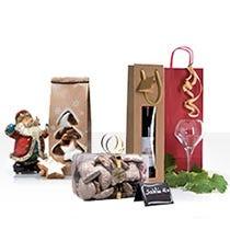 Emballages gourmets de Noël