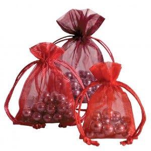 Sachets voile et boîtes Saint Valentin