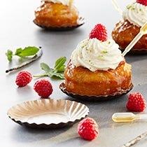 Mini-assiettes à gâteaux
