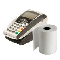 Bobine papier TPE carte bancaire