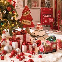 D coration commerce boutique et vitrine magasin retif - Decoration de noel en anglais ...