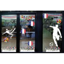Stickers vitrine football