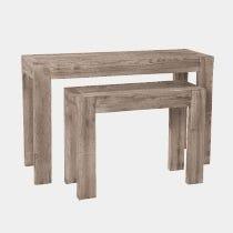 tables consoles dexposition