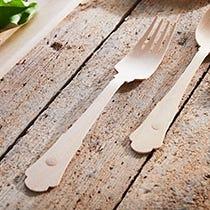 Fourchettes jetables