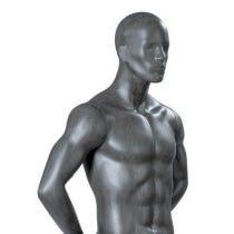 Mannequin homme avec tête