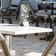 Plateaux de table extérieurs