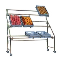 Présentoirs cagettes fruits & légumes