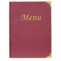 Protège menu A4