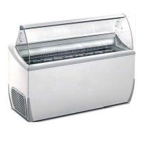 Vitrine réfrigérée à glace