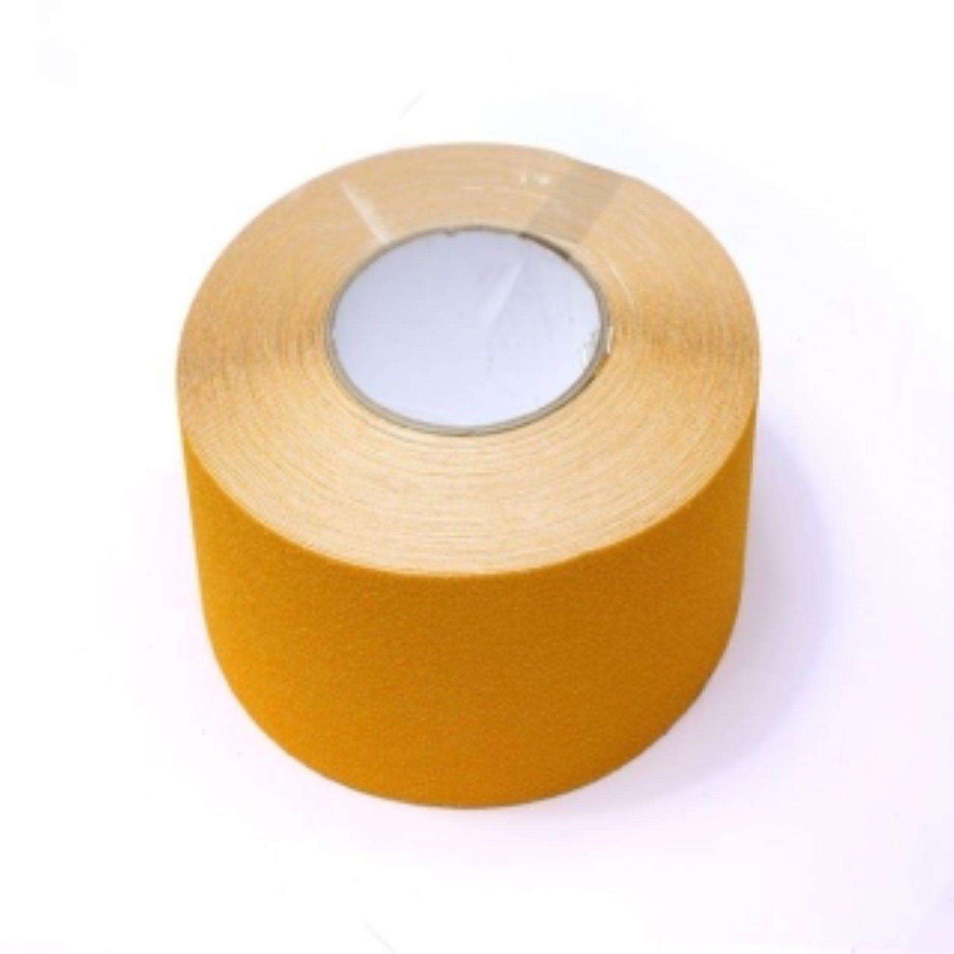Nez de marche en rouleau adhésif coloris jaune - rouleau de 10 m
