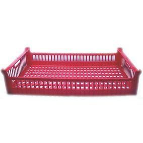 Cagette SNCF rouge - 570 x 346 x 118 mm (photo)