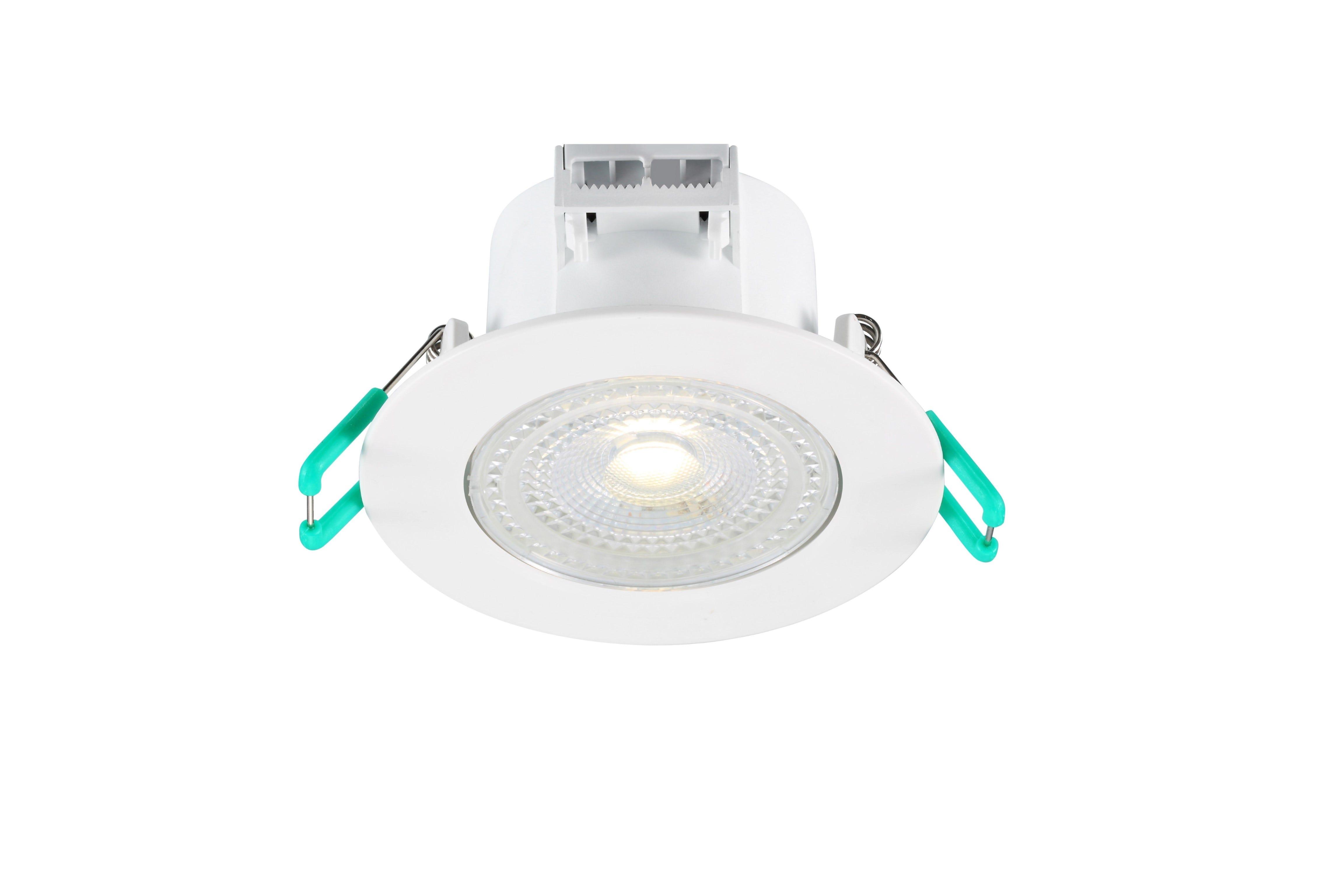 Spot orientable - LED intégrée - IP44 5W 480lm 4000K 38°