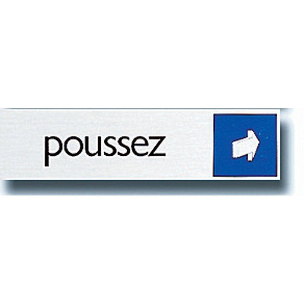 Affichage Poussez (photo)