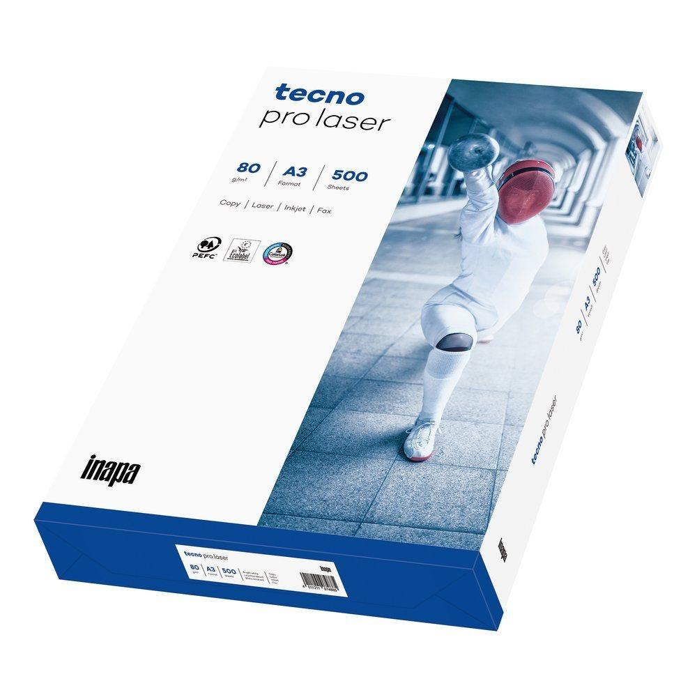 Ramette papier blanc A3 techno pro x 500 feuilles 80 gr