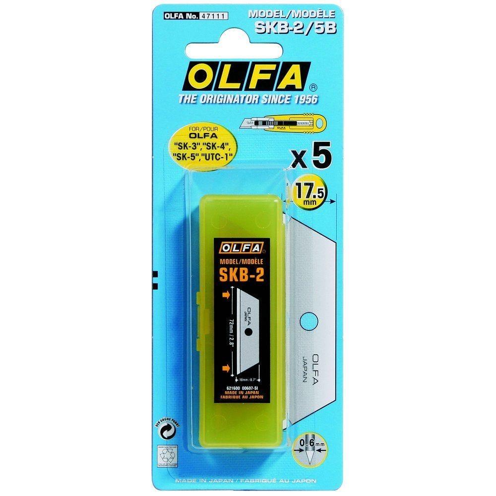 Lames cutter Olfa SK4 pour cutter réf. 10425 - blister de 5