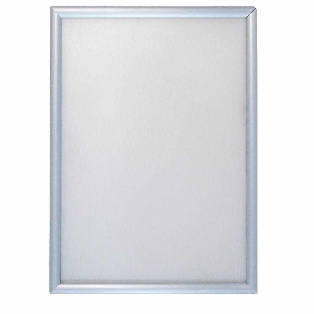 Cadre porte affiche clipsable alu A4 (photo)