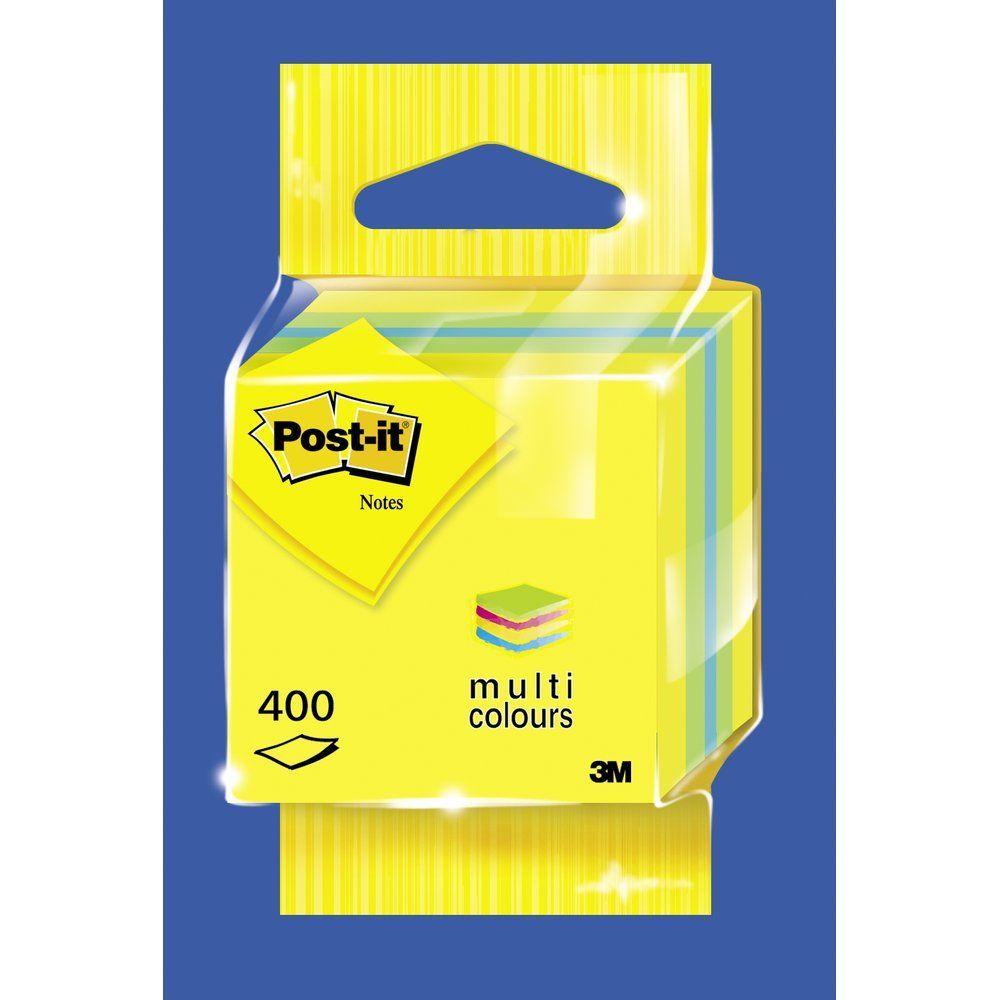 Post-it mini cube jaune citron (photo)