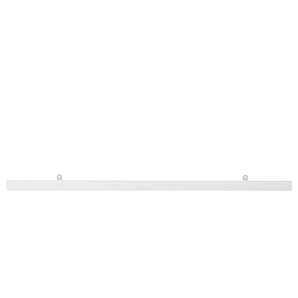 Profil pinçant blanc L.60 cm pour affiche - par 5
