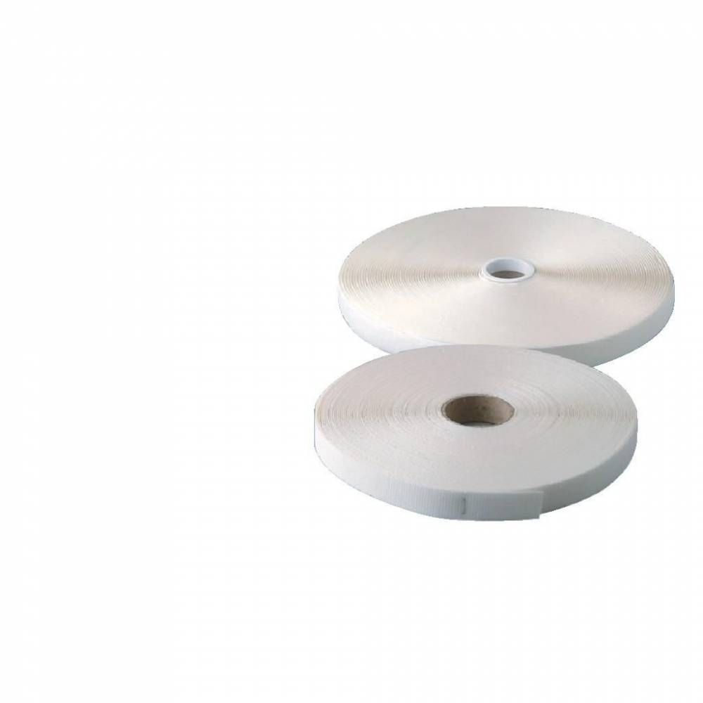 Velcro mâle adhésif  25m (photo)