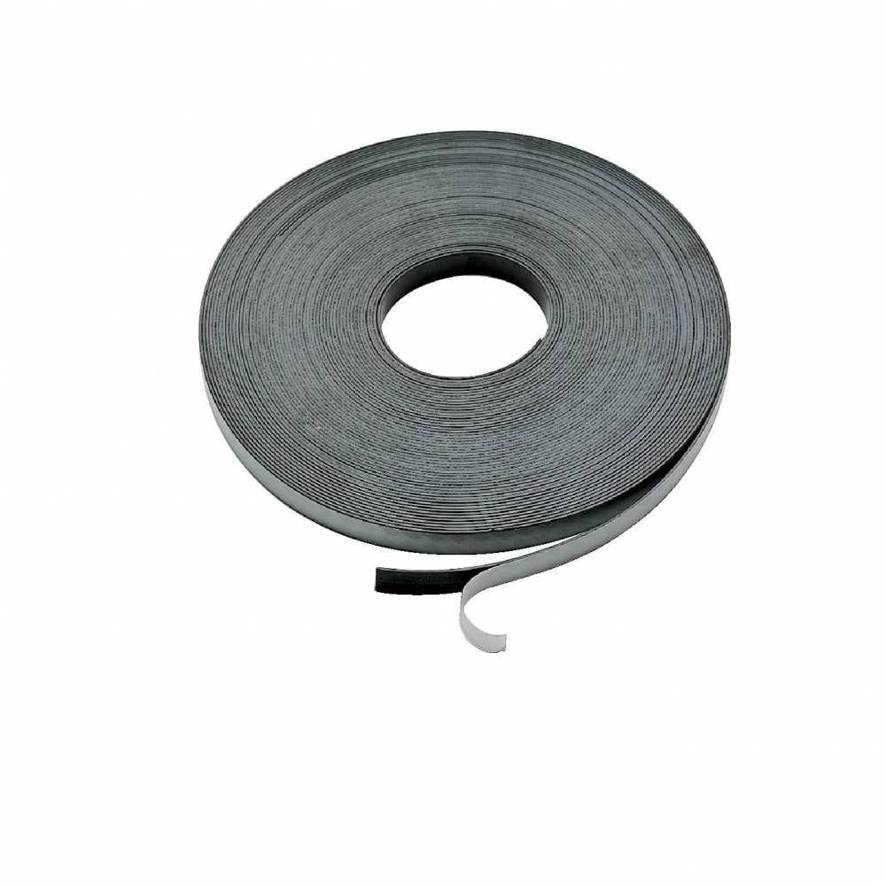 Bande magnétique et adhésive - 10 mètres (photo)