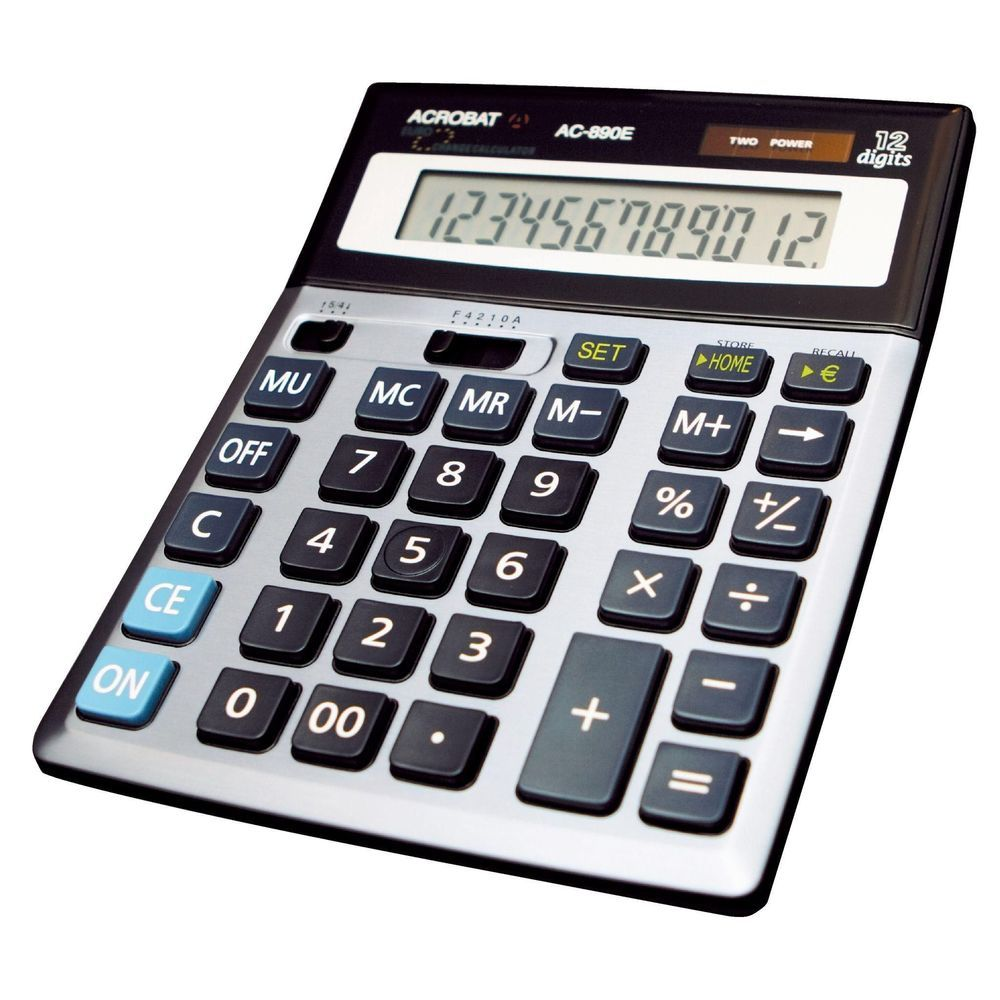 Calculatrice bureau Olympia 12 chiffres AC-890E (photo)