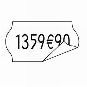 Etiquettes blanc amovibles 26x12 cm - 10 rlx de 15000 étiquettes (photo)