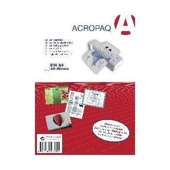 Pochette plastification A4 2x75 microns - par 25 (photo)