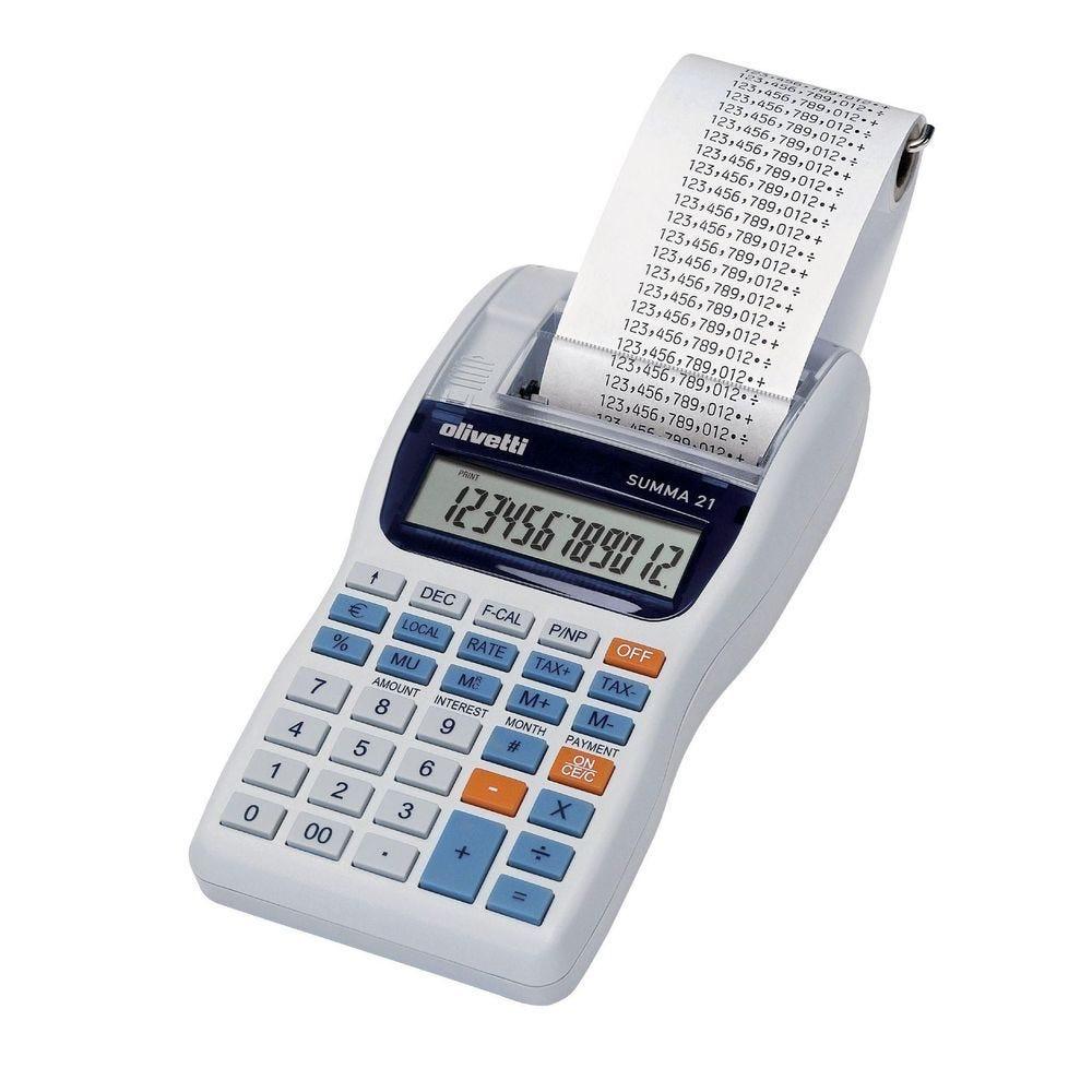 Calculatrice imprimante Olivetti Summa 301 - 12 chiffres