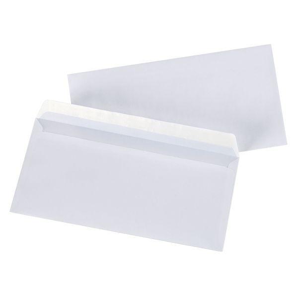 Enveloppe adhésive 80 g - 110 x 220 mm - par 500 (photo)