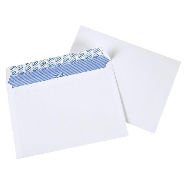 Enveloppes adhésives 100gr 162x229mm - par 100
