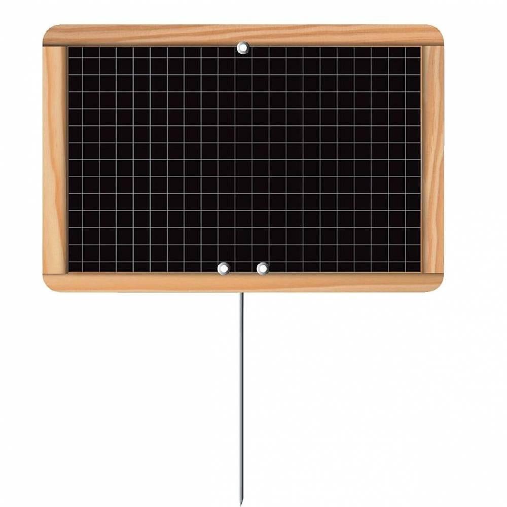 Etiquette écolière - pique inox - 10 x 15 cm - par 10 (photo)