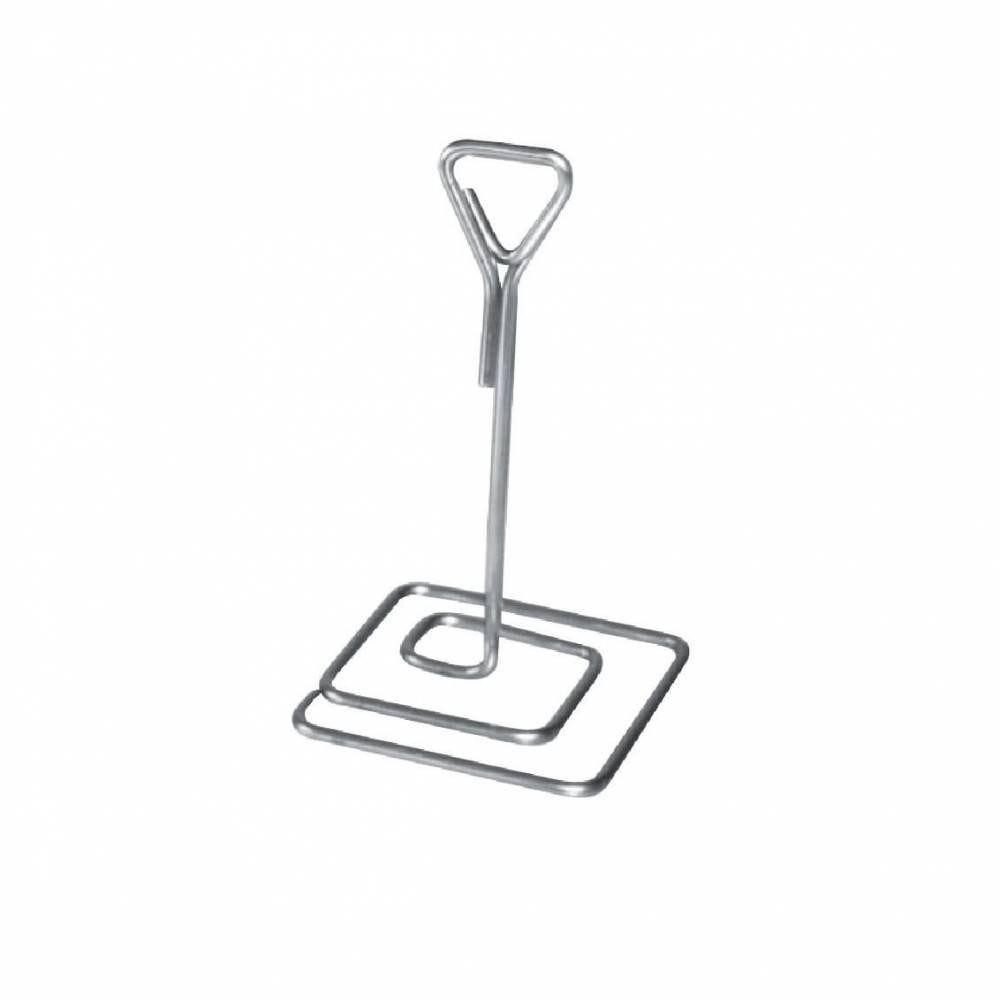 Pied pince inox H 10cm - par 3