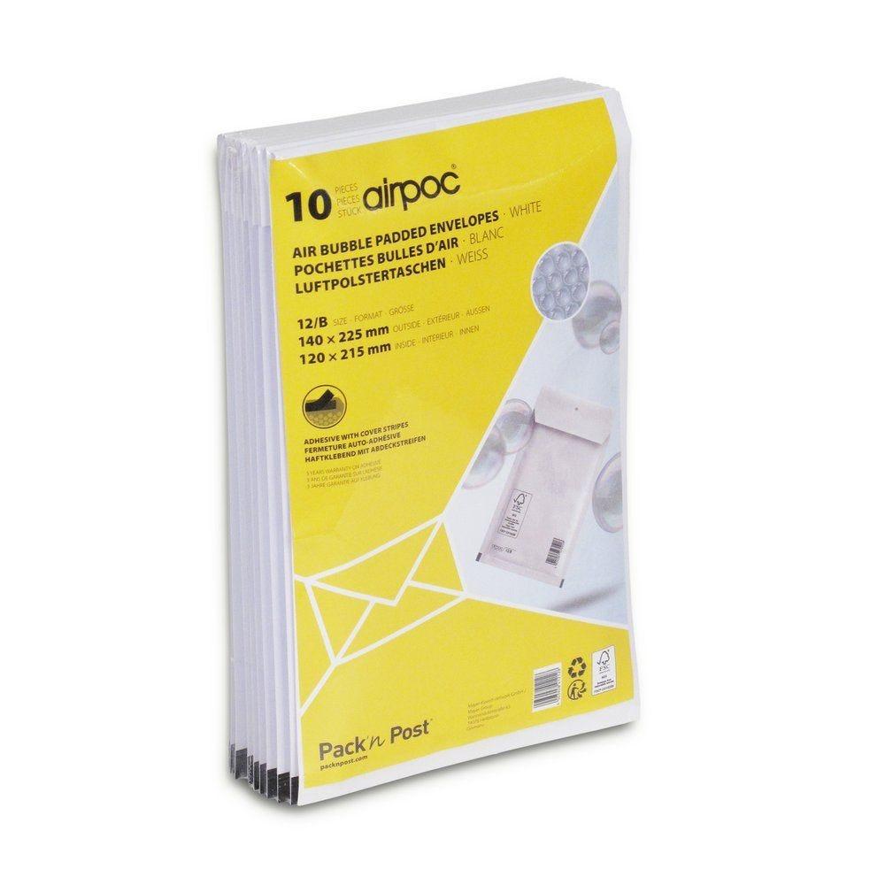 Enveloppe bulle 110 x 215 mm - Par 10 (photo)