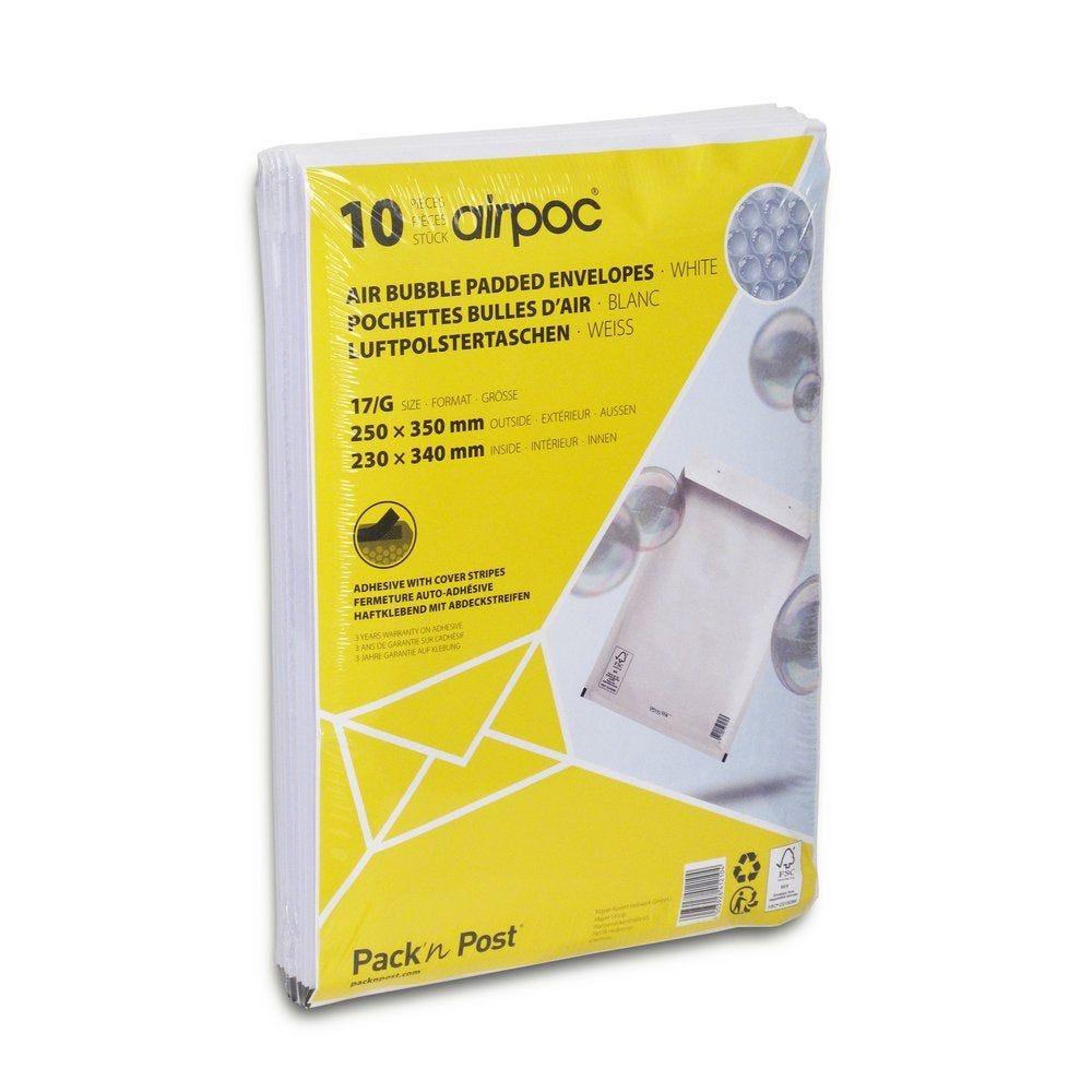 Enveloppe bulle 230 x 335 mm - Par 10 (photo)
