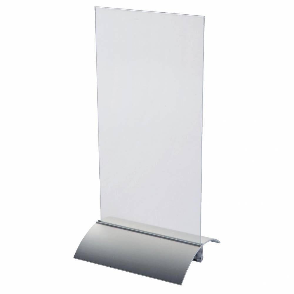 Présentoir recto/verso sans socle - 105 x 148 mm